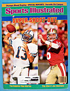 Sports Illustrated Magazine-jan. 21, 1985-shoot Out