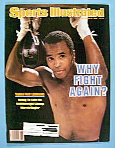 Sports Illustrated Magazine-Sept 8, 1986-Sugar Ray (Image1)