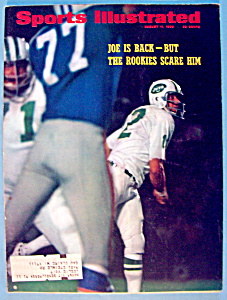 Sports Illustrated Magazine-August 11, 1969-Joe Is Back (Image1)