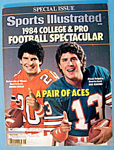 Sports Illustrated Magazine-September 5, 1984-D Marino (Image1)