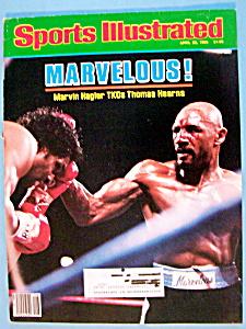 Sports Illustrated Magazine-April 22, 1985-Marvelous (Image1)