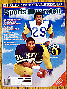 Sports Illustrated-september 4, 1985-dickerson/mccallum