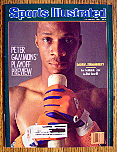 Sports Illustrated Magazine-October 6, 1986-Strawberry (Image1)
