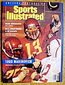 Sports Illustrated-September 3, 1990-Todd Marinovich (Image1)