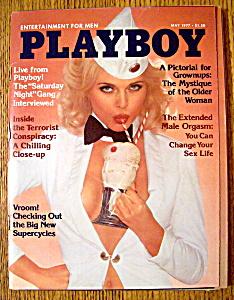 Playboy Magazine-May 1977-Sheila Mullen (Image1)