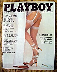 Playboy Magazine-August 1978-Vicki Witt (Image1)