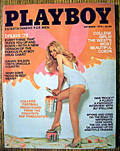 Playboy Magazine-september 1978-rosanne Katon