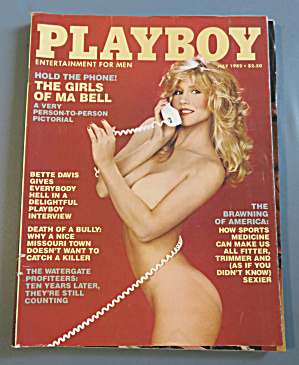 Playboy Magazine-july 1982-lynda Wiesmeier