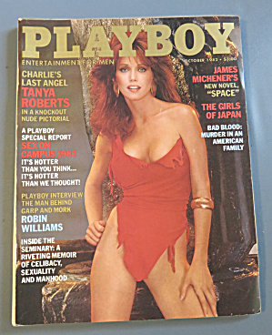 Playboy Magazine-october 1982-marianne Gravatte