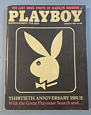 Playboy Magazine-January 1984-Penny Baker (Image1)
