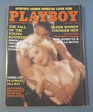 Playboy Magazine-May 1984-Patty Duffek (Image1)