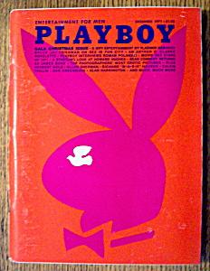 Playboy Magazine-December 1971-Karen Christy (Image1)