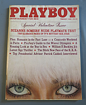 Playboy Magazine-February 1980-Suzanne Somers (Image1)