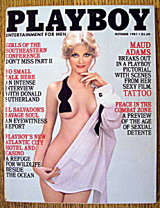 Playboy Magazine-october 1981-kelly Tough
