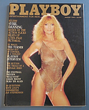 Playboy Magazine-august 1983-carina Persson