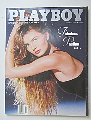 Playboy Magazine-august 1987-sharry Konopski