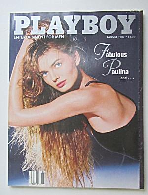 Playboy Magazine-August 1987-Sharry Konopski (Image1)