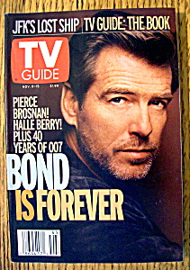 Tv Guide-november 9-15, 2002-pierce Brosnan