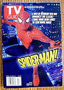 Tv Guide-april 27-may 3, 2002-spider-man