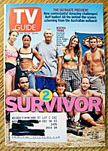 TV Guide-January 20-26, 2001-Survivor 2 (Image1)