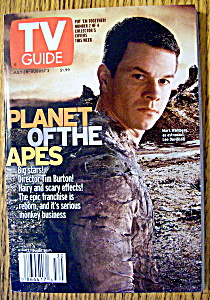 Tv Guide-july 28-august 3, 2001-mark Wahlberg