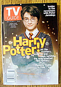 Tv Guide-october 27-november 2, 2001-harry Potter