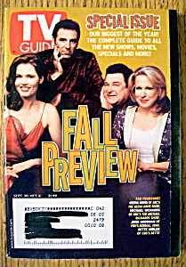 Tv Guide-september 30-october 6, 2000-fall Preview