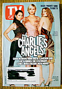 Tv Guide-october 28-november 3, 2000-charlie's Angels