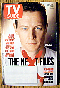 Tv Guide-november 4-10, 2000-robert Patrick