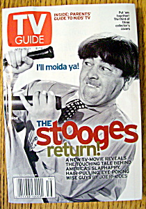 Tv Guide-april 15-21, 2000-moe (Stooges Return)