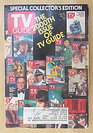 Tv Guide-july 27-august 2, 1991-2000th Issue Tv Guide
