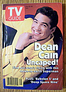 Tv Guide-july 22-28, 1995-dean Cain