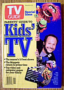 Tv Guide-march 16-22, 1996-billy Crystal & Muppets