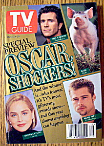 Tv Guide-march 23-29, 1996-oscar Shockers
