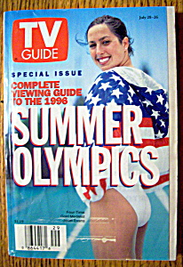 Tv Guide-july 20-26, 1996-summer Olympics
