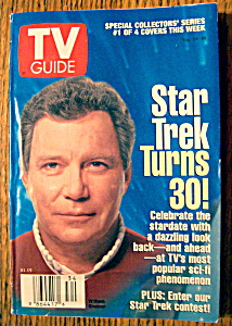 Tv Guide-august 24-30, 1996-star Trek's William Shatner