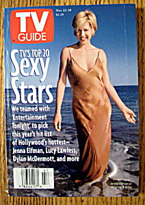 Tv Guide-november 22-28, 1997-jenna Elfman