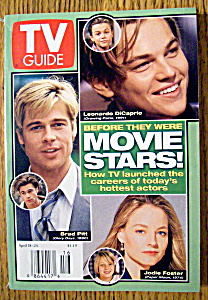 Tv Guide-april 18-24, 1998-movie Stars