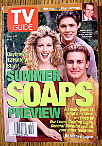 Tv Guide-june 13-19, 1998-summer Soaps Preview