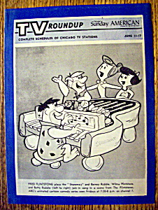Tv Roundup-june 11-17, 1961-the Flintstones