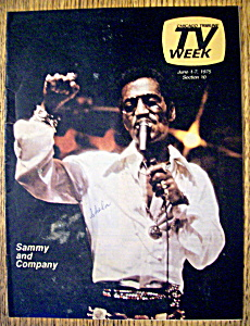 Tv Week-june 1-7, 1975-sammy And Company