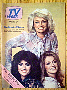 TV Week-March 1-7, 1981-Barbara Mandrell & Sisters (Image1)