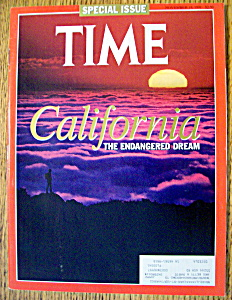 Time Magazine-november 18, 1991-california