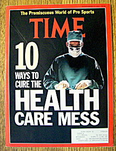 Time Magazine-november 25, 1991-health Care Mess