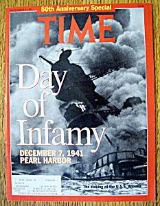 Time Magazine-december 2, 1991-day Of Infamy