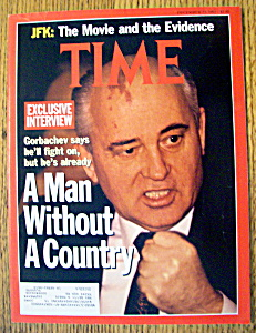 Time Magazine-december 23, 1991-mikhail Gorbachev