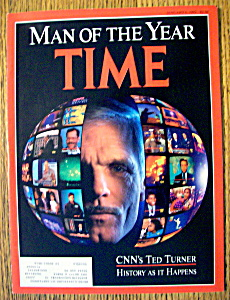 Time Magazine-january 6, 1992-ted Turner