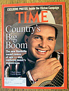 Time Magazine-march 30, 1992-garth Brooks