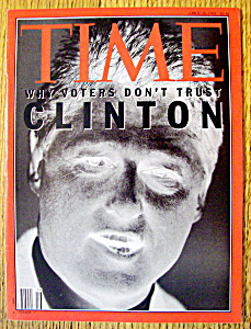 Time Magazine-april 20, 1992-bill Clinton