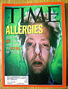 Time Magazine-june 22, 1992-allergies